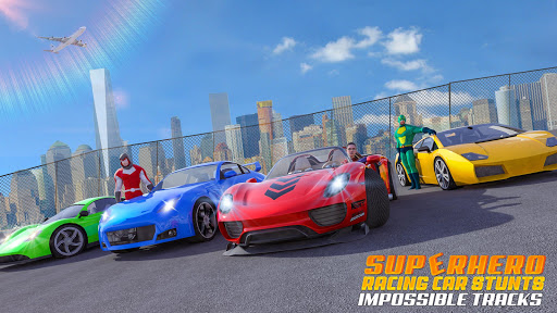 Superhero GT Racing Car Stunts: New Car Games 2020 apktram screenshots 5