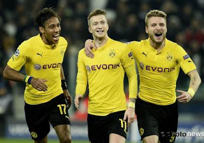 L'entraînement atypique du Borussia Dortmund