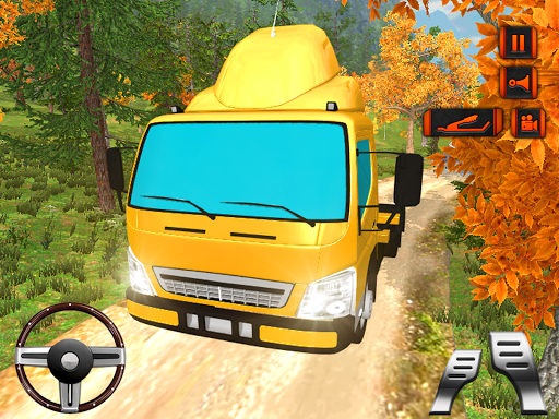 玩免費模擬APP|下載越野山驅動器載貨車 app不用錢|硬是要APP