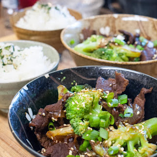 Broccoli Beef - A Japanese Twist on a Chinese Takeout Classic.