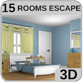 3D Escape Games-Puzzle Bedroom 1