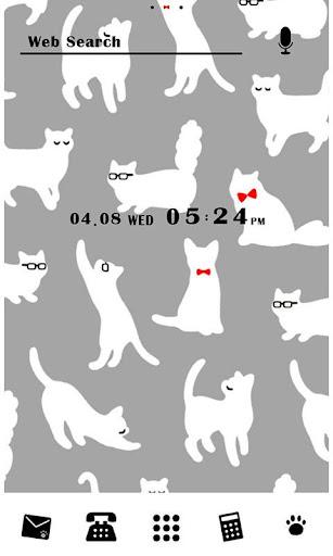 かわいい壁紙・アイコン-Pretty Cat-無料きせかえ