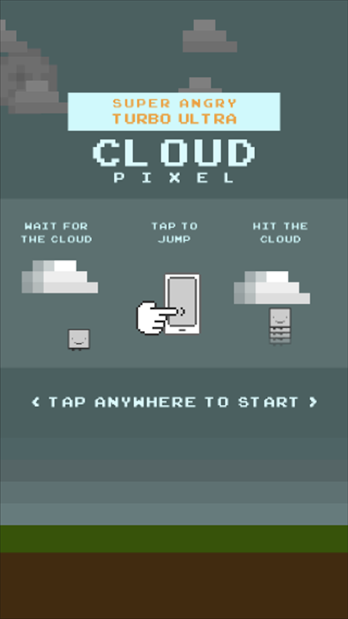 Super Angry Cloud Pixel- screenshot