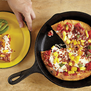 Pan-Fried Hawaiian Pizza