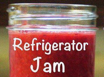 Refrigerator Jam Recipe