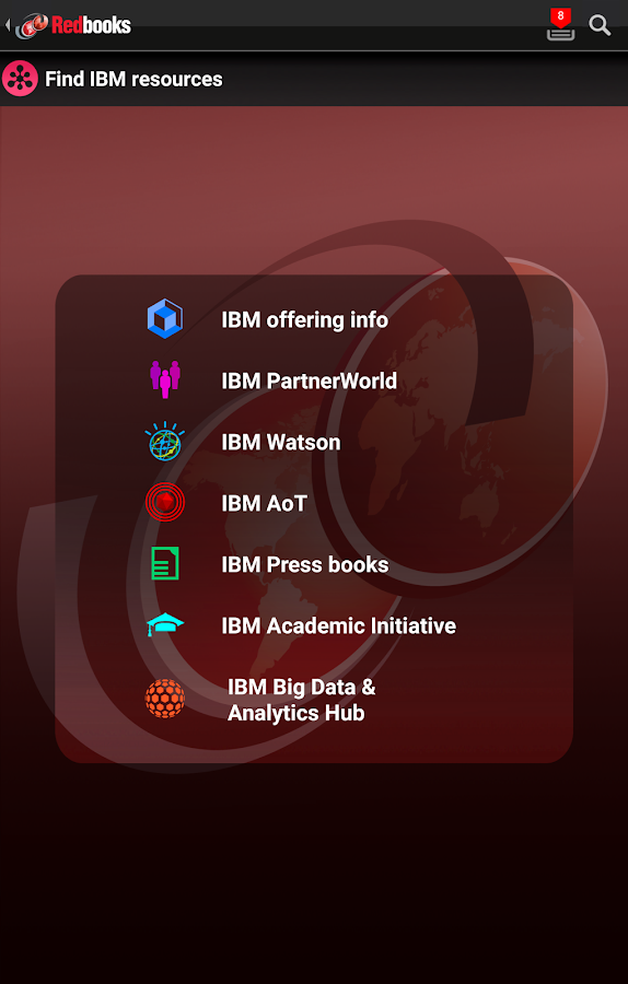 IBM Redbooks- screenshot