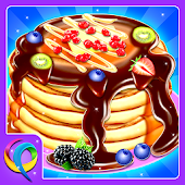 Sweet Pancake Maker - Breakfast Food Cooking Game