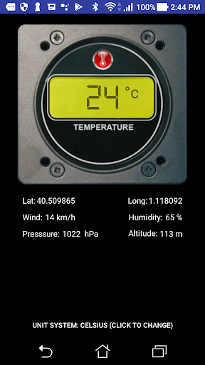 Digital Thermometer FREE 1.2.3 screenshots 1