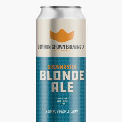 Common Crown Blonde Ale – 473 ml can