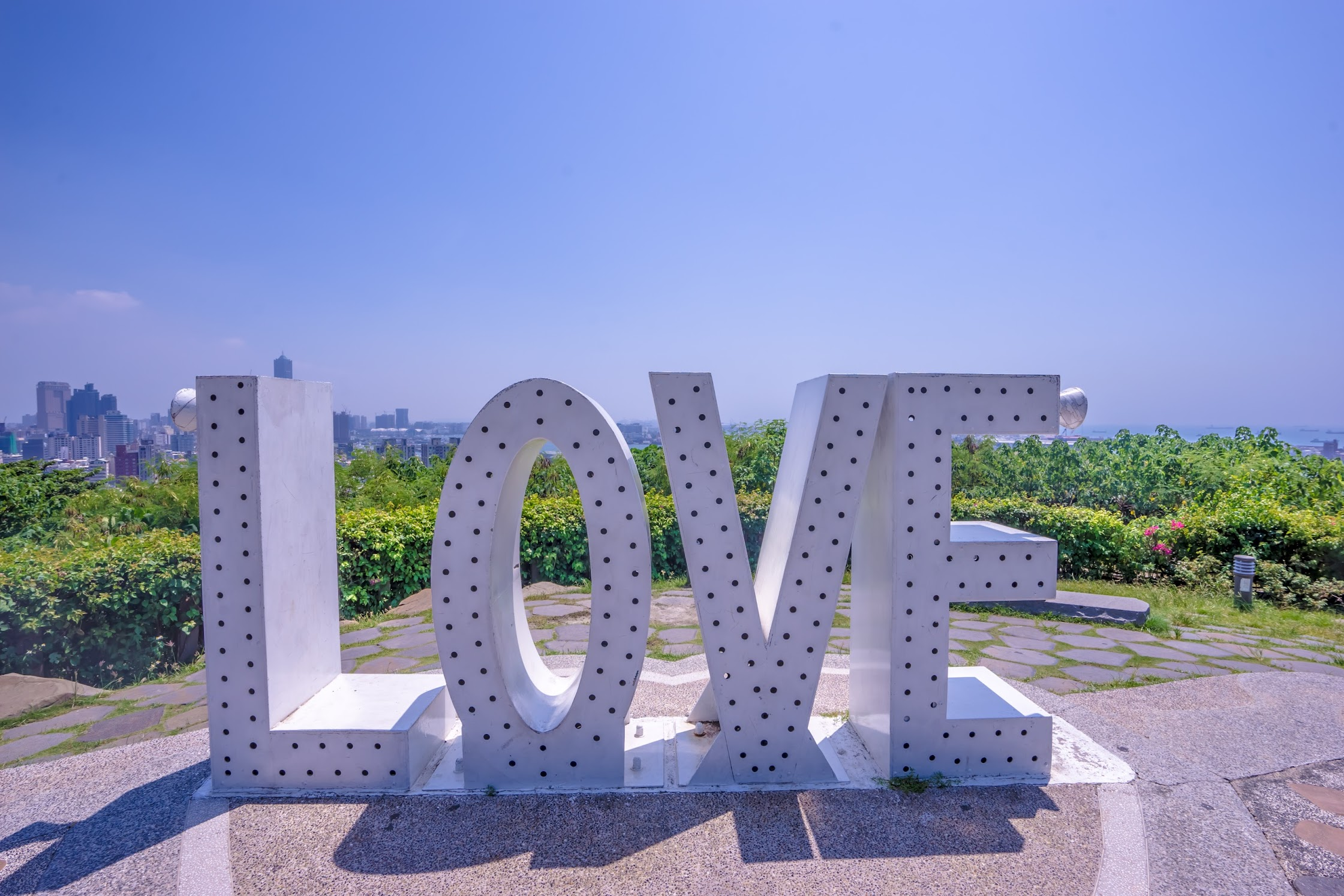 Kaohsiung Shoushan LOVE Valentine's Lookout2