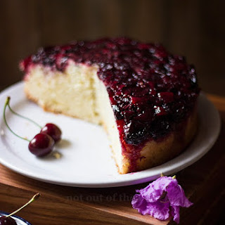 Cherry Upside-Down Cake.