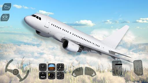 Code Triche Take off Airplane Pilot Race Flight Simulator mod apk screenshots 3