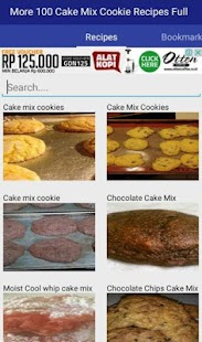 Cake Mix Cookie Recipes ? Cooking Guide Handbook - náhled