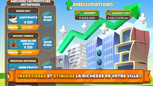 Holyday City Tycoon: Idle Resource Management  captures d'écran 4