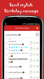 Stylish Text Typing (with Emoji keyboard) - náhled