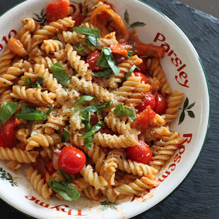 Red Veggie Pasta
