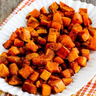 Roasted Butternut Squash with Moroccan Spices.