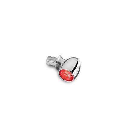 Kellermann LED broms/bakljus Bullet Atto Krom, för vertikal montering