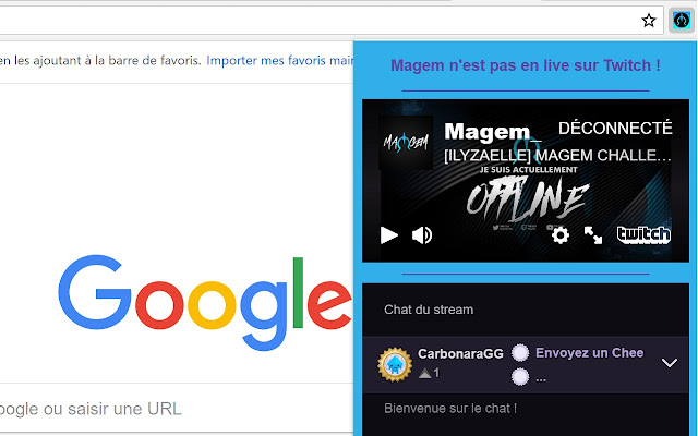 Magem Live Twitch