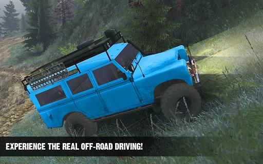 Offroad Cruiser Tough Driving 4x4 Simulation Game 1.0 Mod screenshots 4