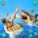 Angry Shark Attack Simulator 2019 icon