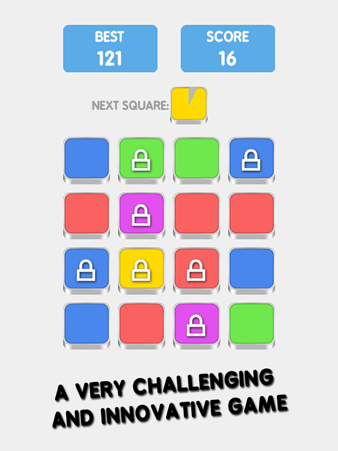 4 Squares Puzzle Game- screenshot