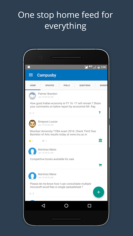 Campusby- screenshot