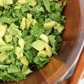 Quinoa and Avocado Romaine Salad