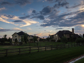 Photo: Day 245-Rocky Mountain Sunset