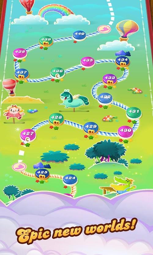 Screenshot 4 Candy Crush Saga 1.139.0.1 APK MOD