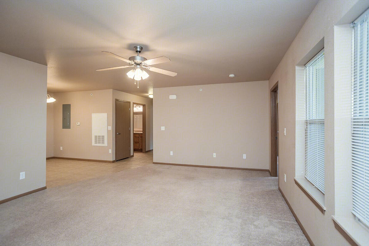Two Bed Two Bath Floorplan 2 Bed 2 Bath Antelope Ridge Apartments In Gillette Wyoming