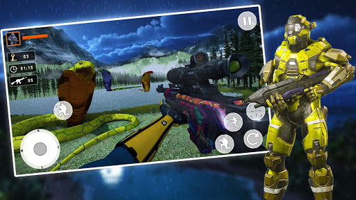 Hunting Reptile Fever FPS android2mod screenshots 5