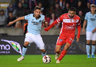 Jorge Simao réintègre deux joueurs au groupe de l'Excel Mouscron