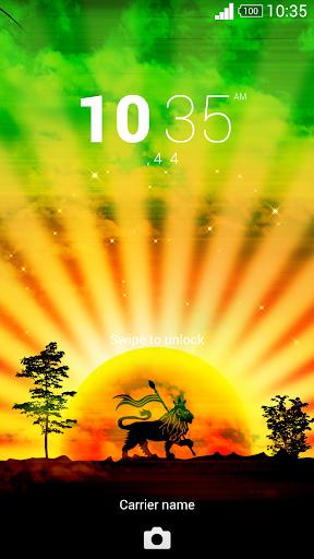 XperianZ™ Reggae Sunset theme
