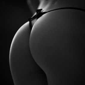 by Yvan Lefou - Nudes & Boudoir Boudoir ( models, nude, fineart, black and white, latin, boudoir, woman )