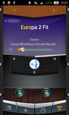 android Radio Slovak Republic Screenshot 4