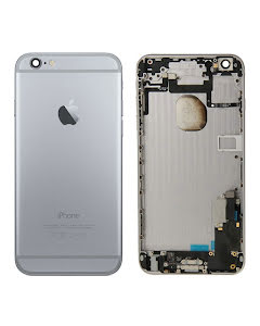 iPhone 6 Plus -Back Housing with small parts Original Pulled Black