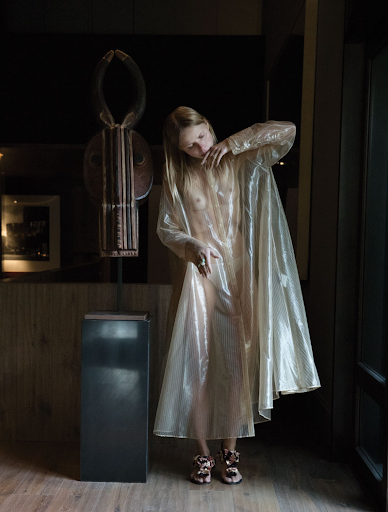 jil sander spring 2018 dress