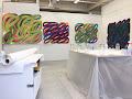 <p> <strong>Vermont Studio Center, studio installation, 2018</strong></p>