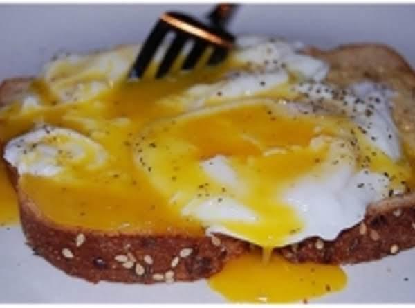 Simple Egg On Toast Recipe