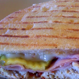 Panini Grilled Cuban Sandwiches #BurgerWorld