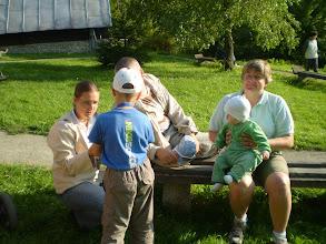 Photo: Rodinka  úžasných s pestúnkou Máriou!