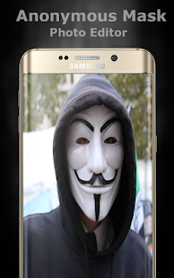 Anonymous Mask Photo Editor - náhled