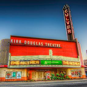 Kirk Douglas Theatre by Francis Hesse - Buildings & Architecture Architectural Detail ( culver city, california, kirk douglas theatre, los angeles )