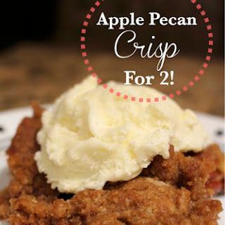 Apple Pecan Crisp {For 2}