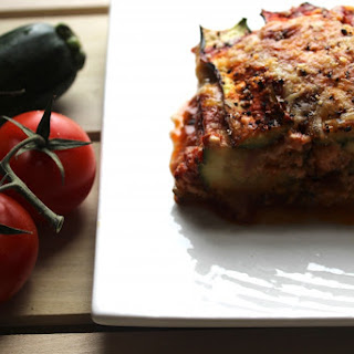 Low-Carb Zucchini Lasagna.