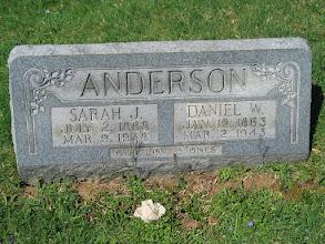 Photo: Anderson, Daniel W. and Sarah J.