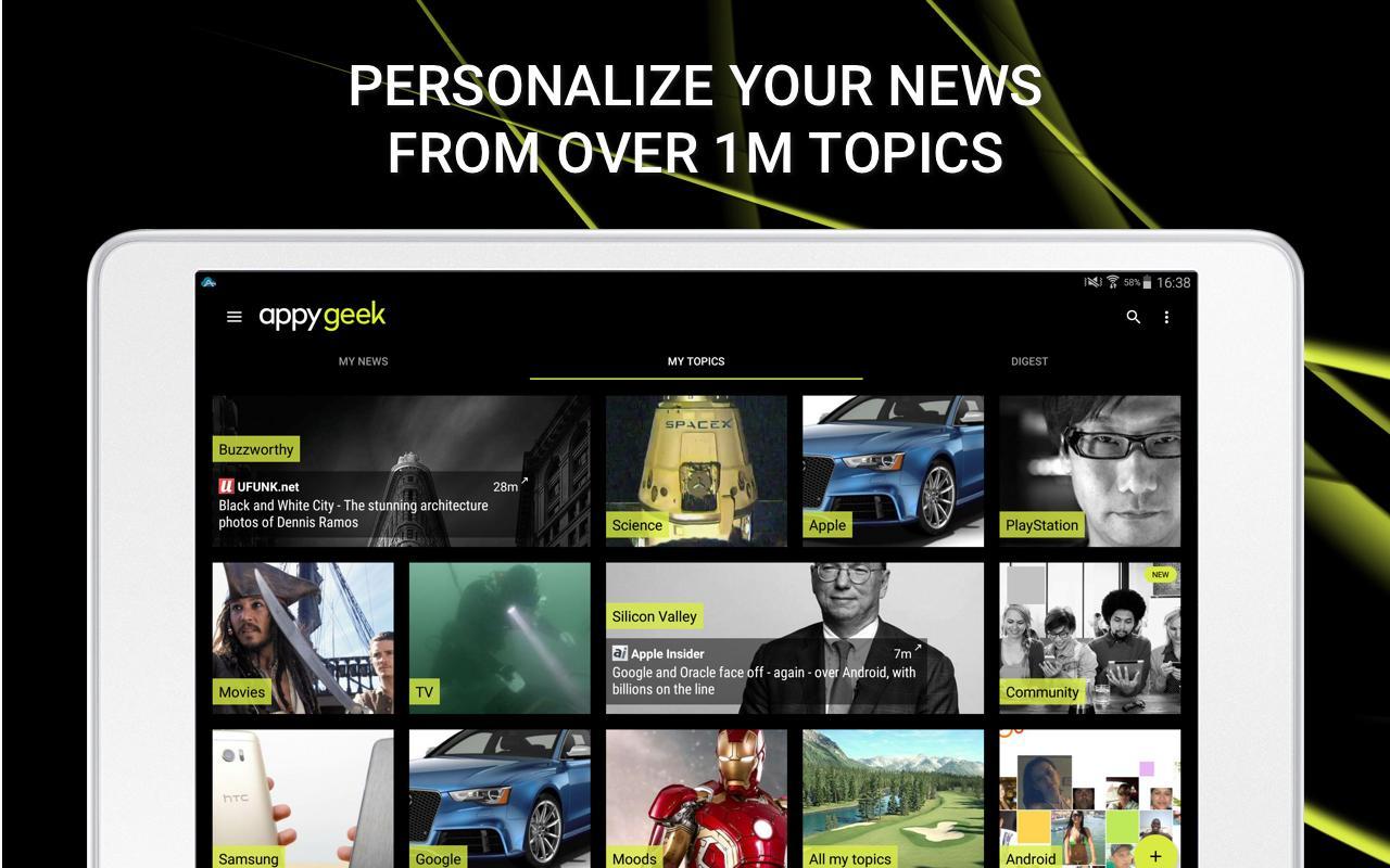 Appy Geek – Tech news screenshot #11