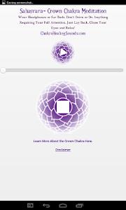 Crown Chakra Sound Meditation screenshot 1