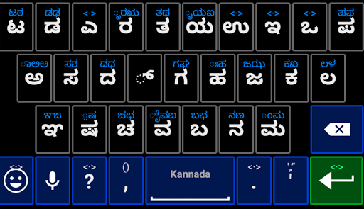 Kannada Keyboard Emoji Diction